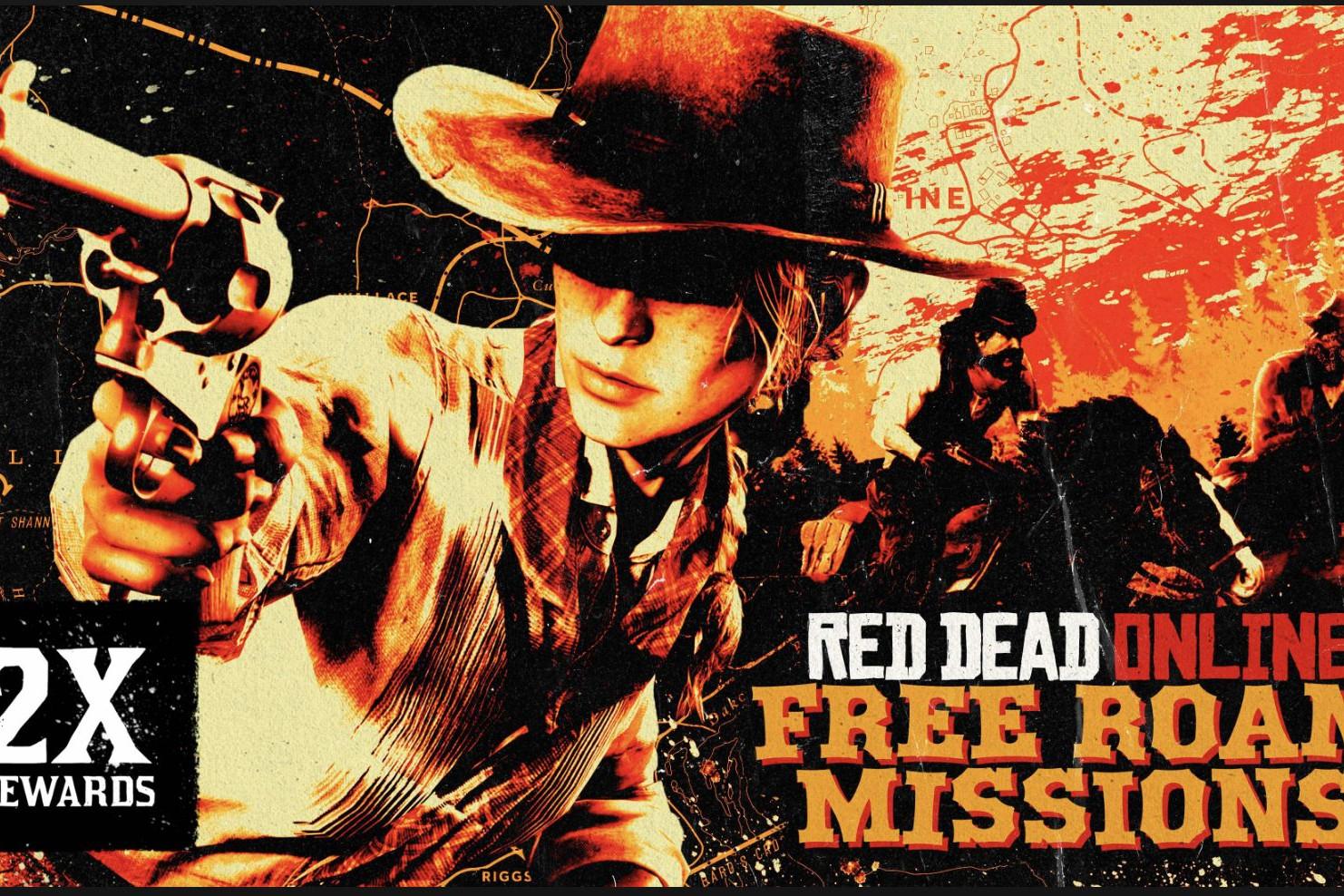 Red Dead Online Mission Mode Libre