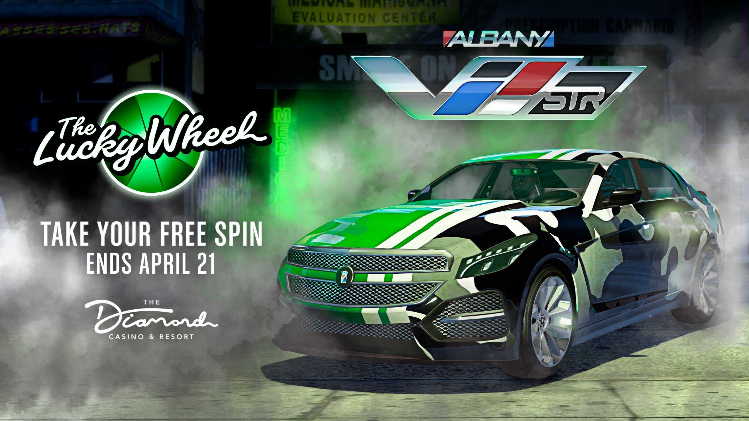 Albany V STR Lucky wheel
