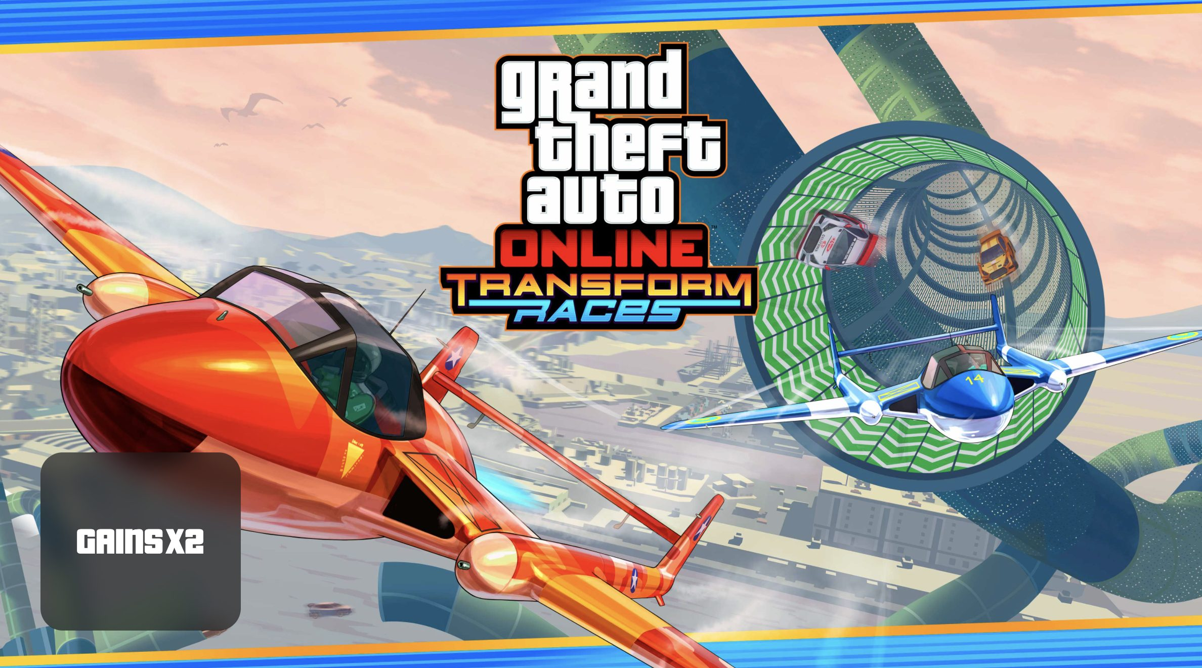 Gains doublés dans GTA Online Transform Races