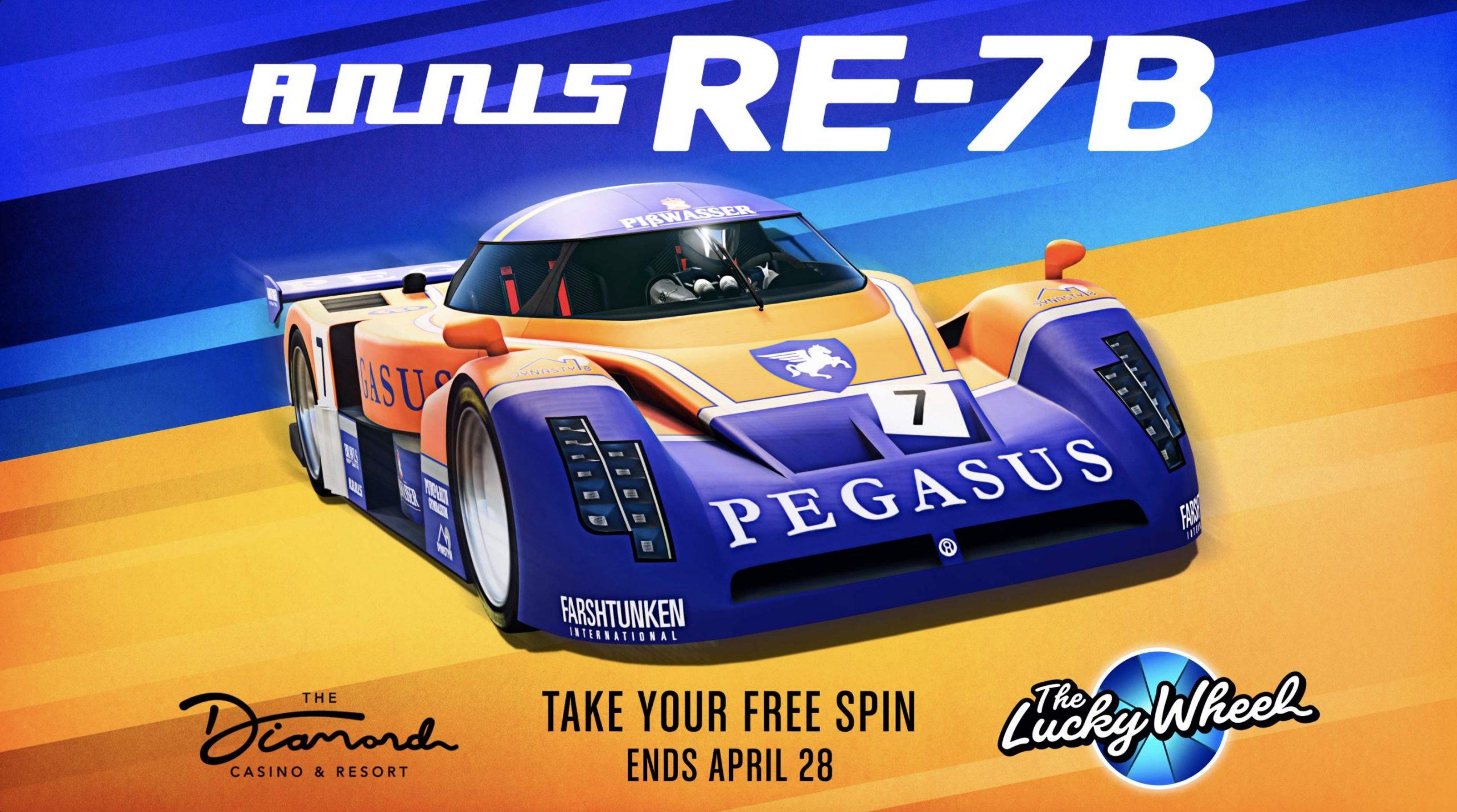 Pegasus dans GTAOnline