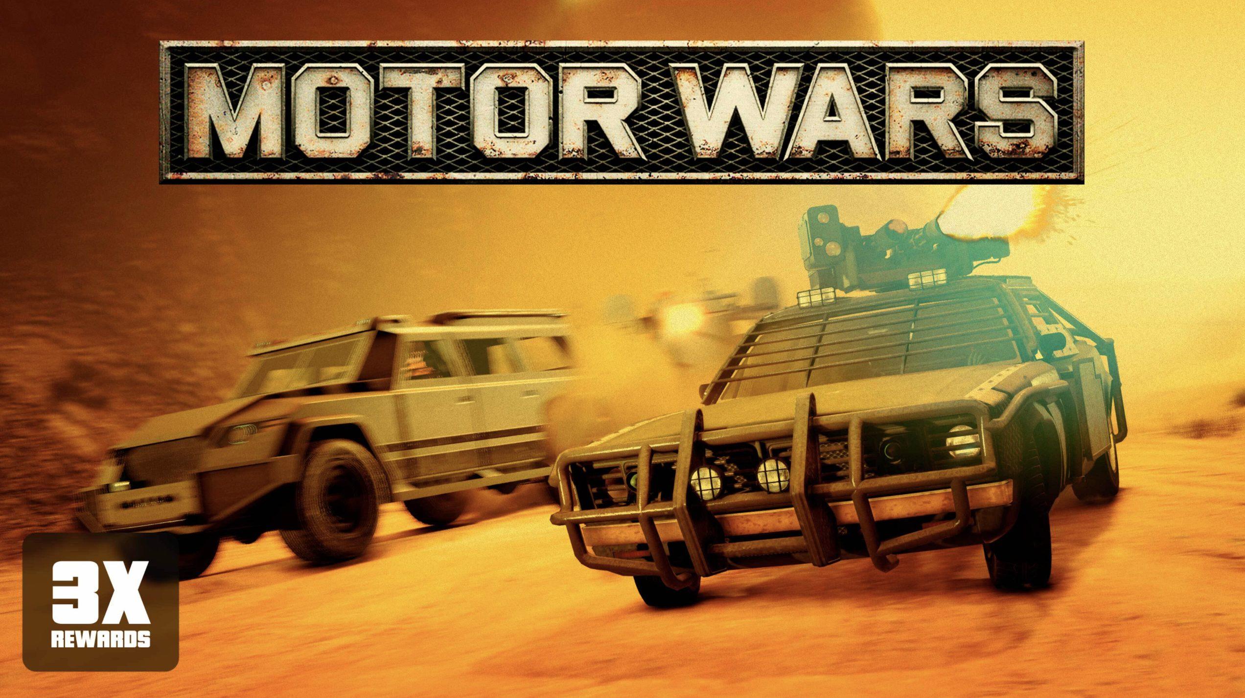 Récompenses triplées dans Motor Wars cette semaine