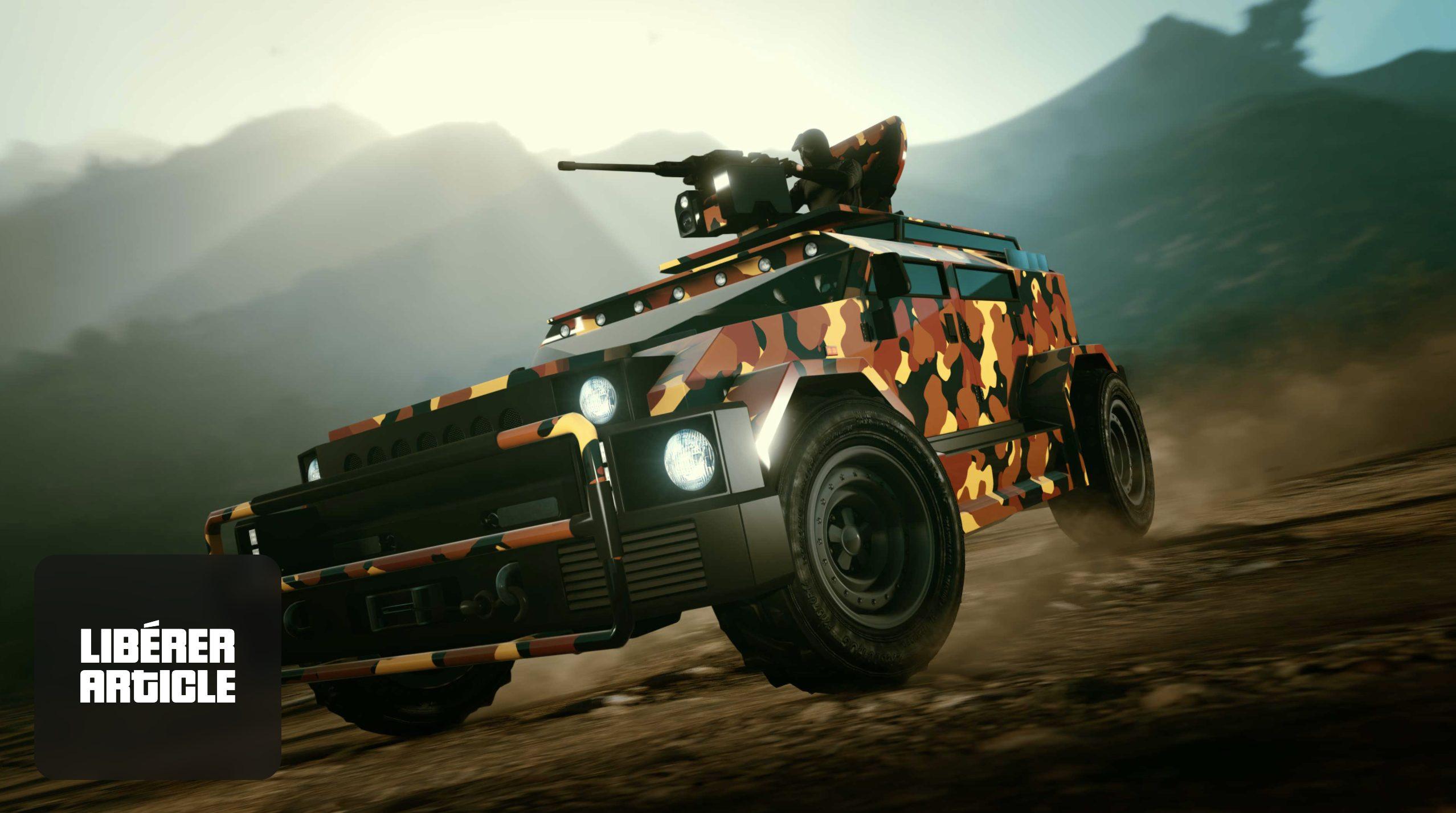 Le camouflage orange dans GTA Online