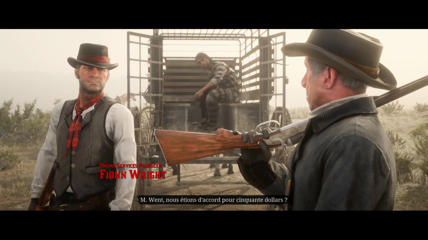 Red Dead Online intro