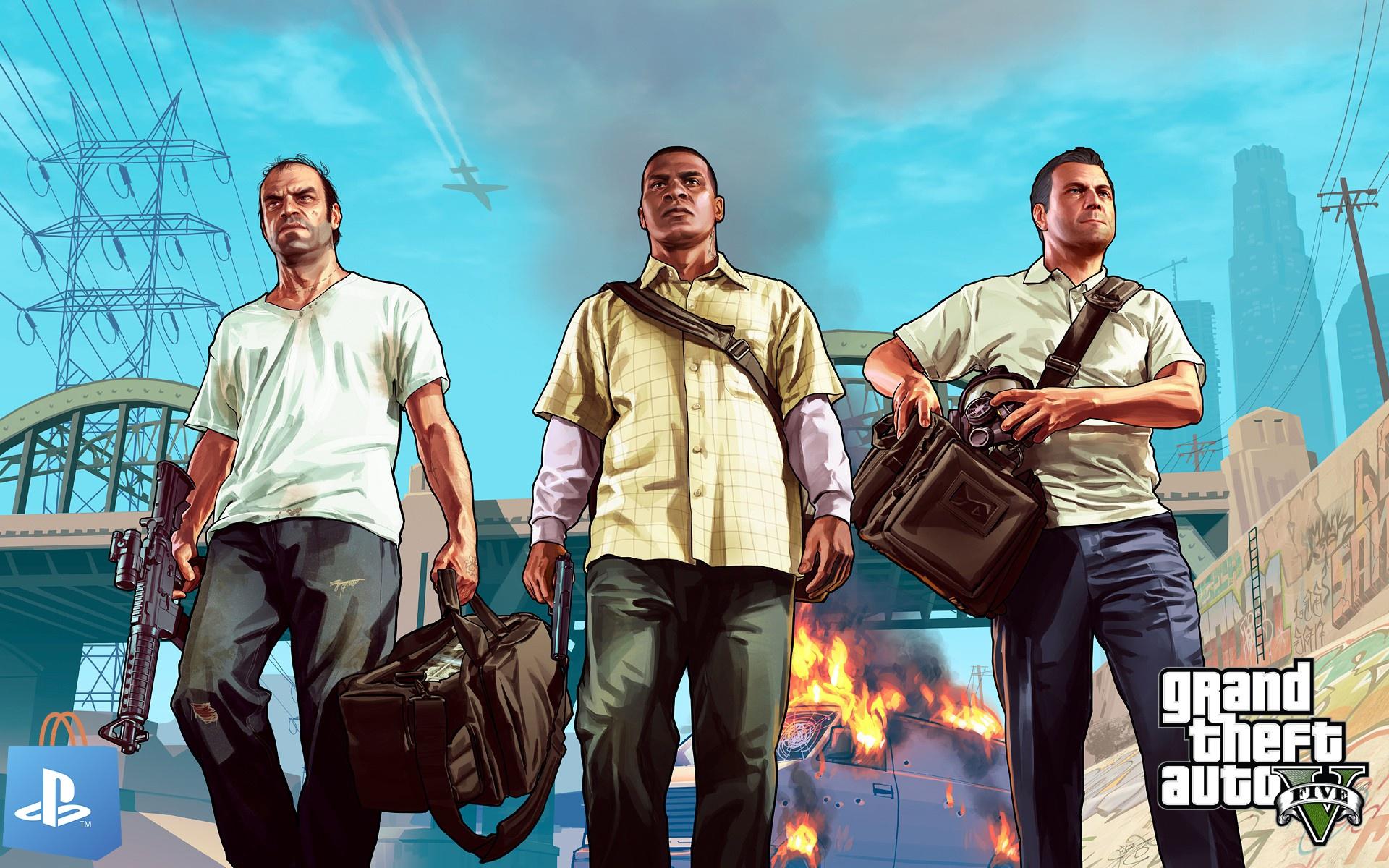 GTA V toujours présent dans le classement du PlayStation Store
