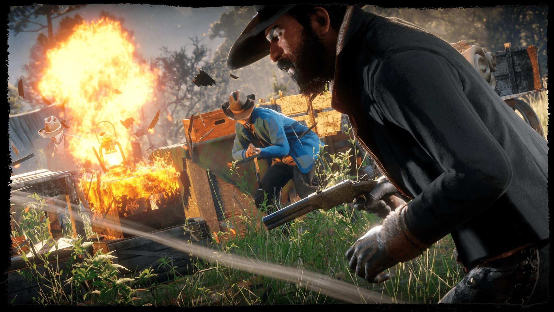 repaire bandits Red Dead Online