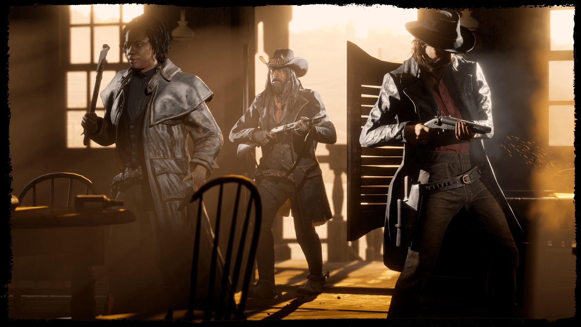 Série à la une Red Dead Online