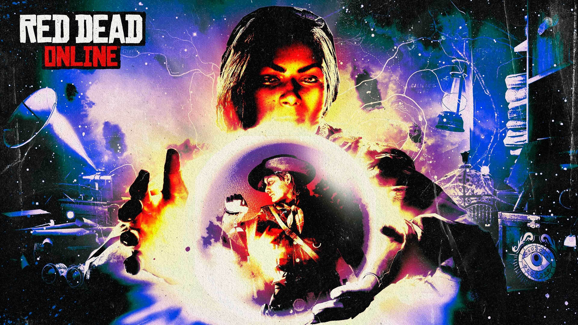Madame Nazar boule cristal Red Dead Online