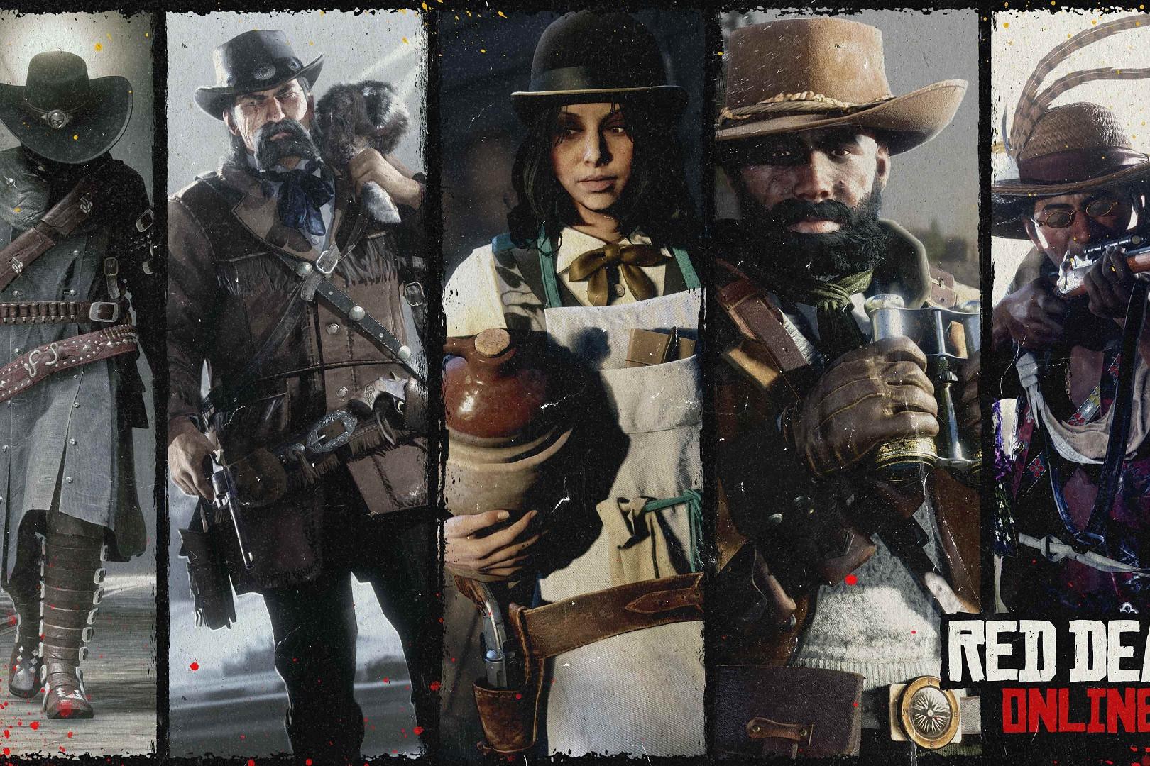 rôles bonus Red Dead Online