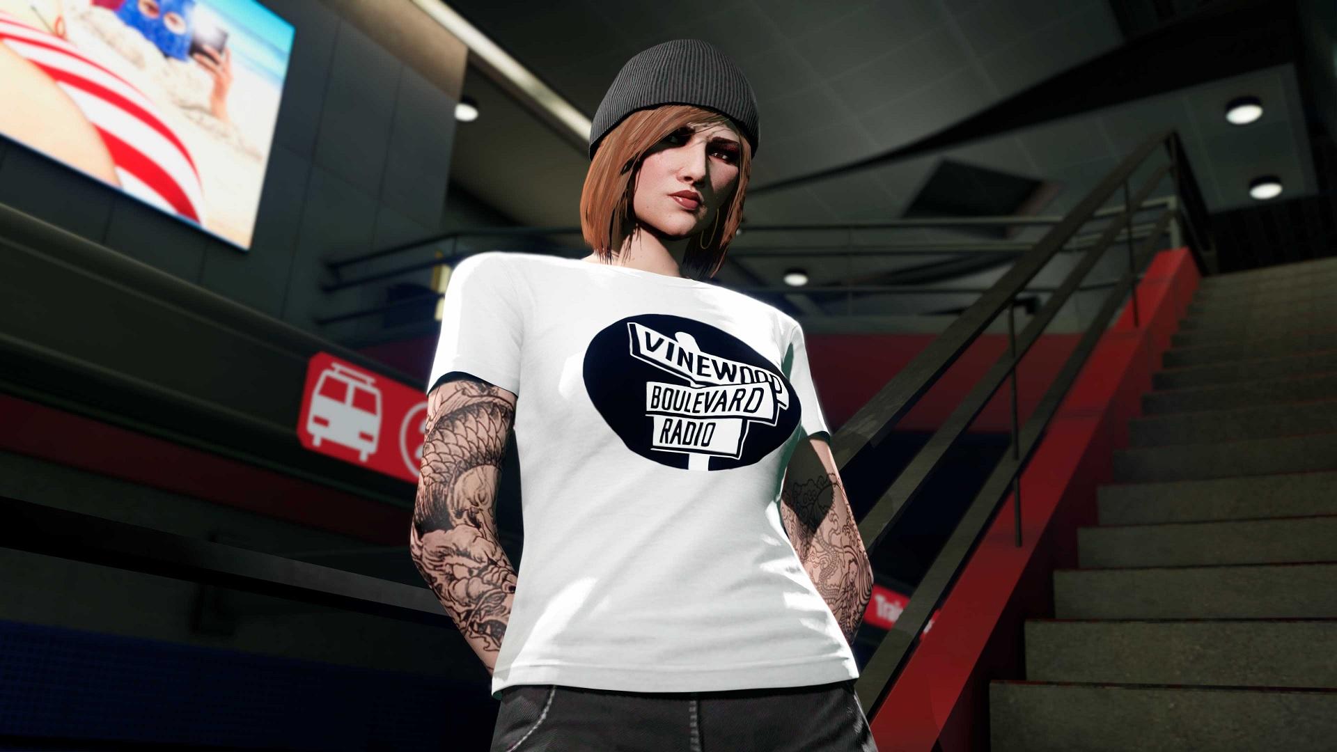 t-shirt Vinewood Boulevard Radio