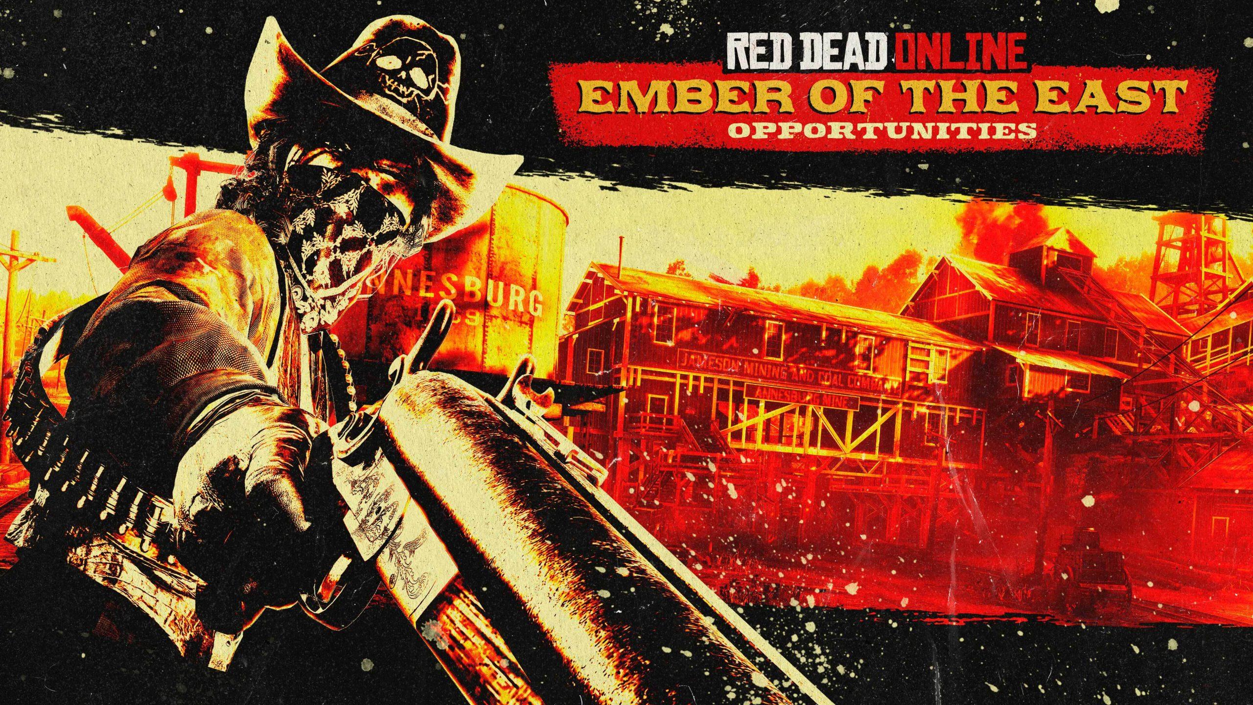 L'opportunité « braise de l'Est » est disponible dans Red Dead Online