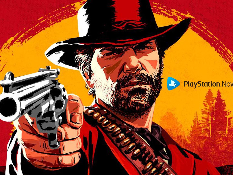 Red Dead Redemption II disponible dans le PS Now