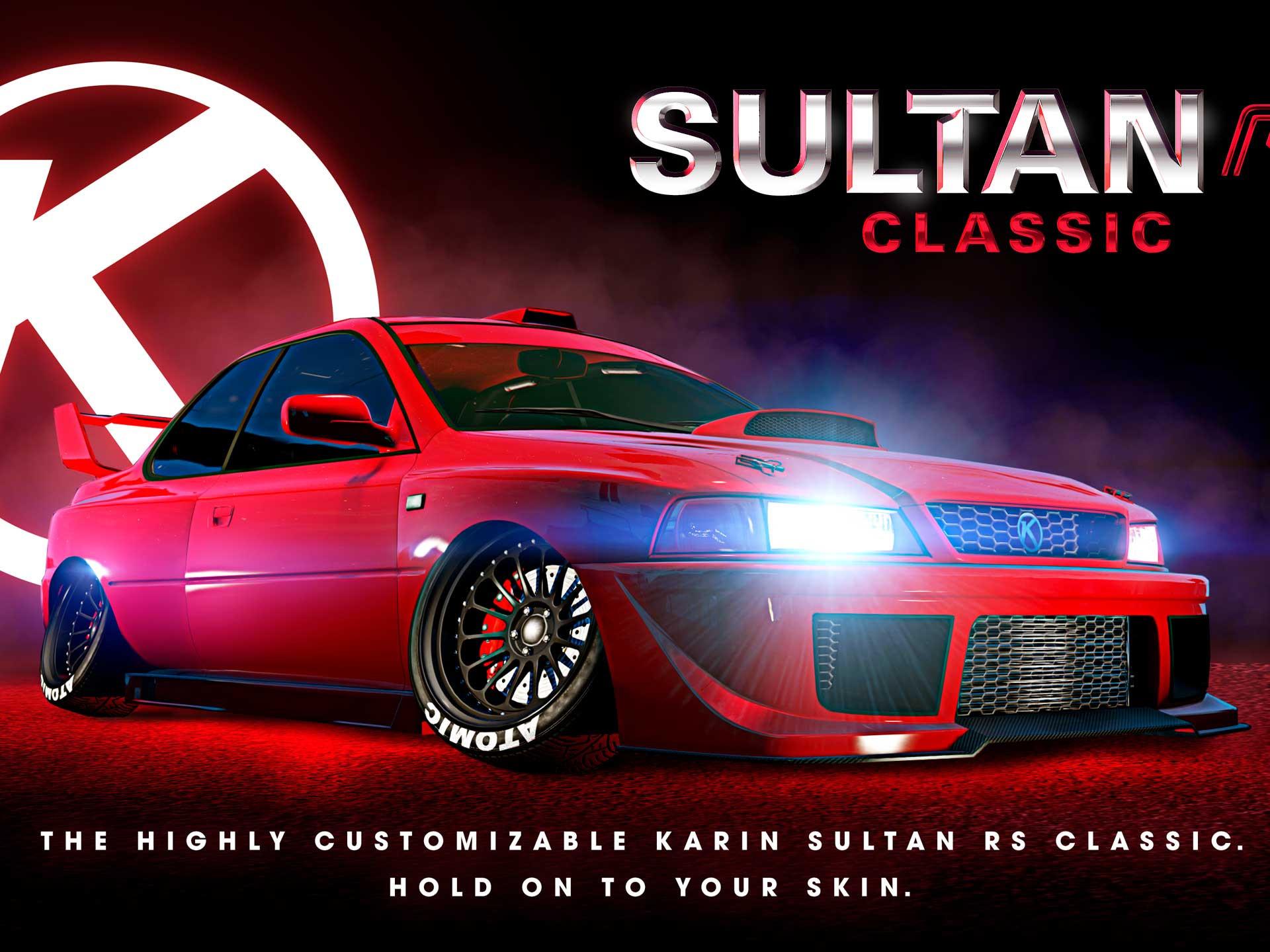 La Karin Sultan RS Classic arrive sur GTA Online