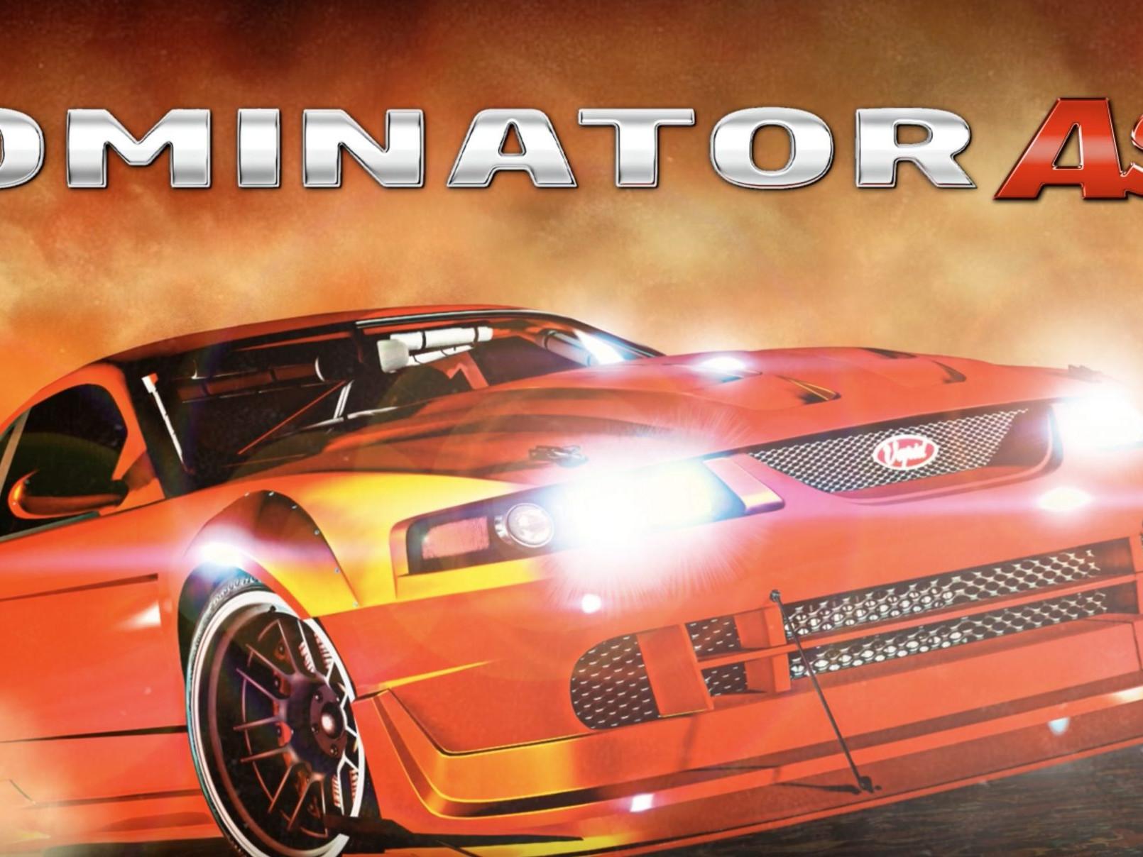 Vapid Dominator ASP disponible sur GTA Online