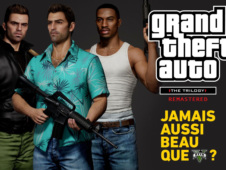 Dossier GTA Trilogy Remastered : Jamais aussi beau que GTA V ?