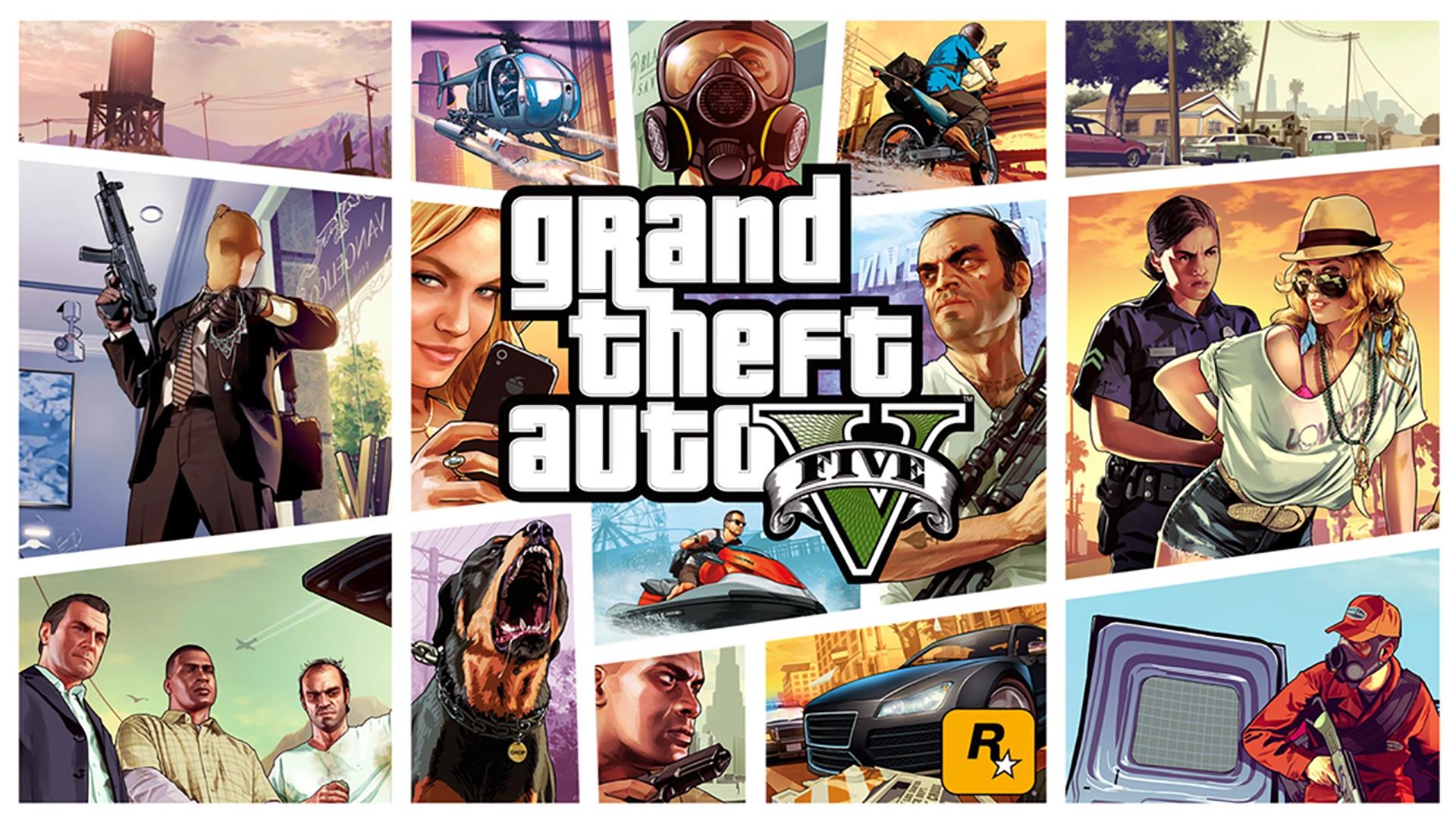 Saga Grand Theft Auto