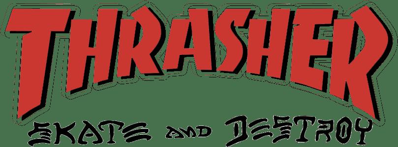 Logo Thrasher Skate and Destroy