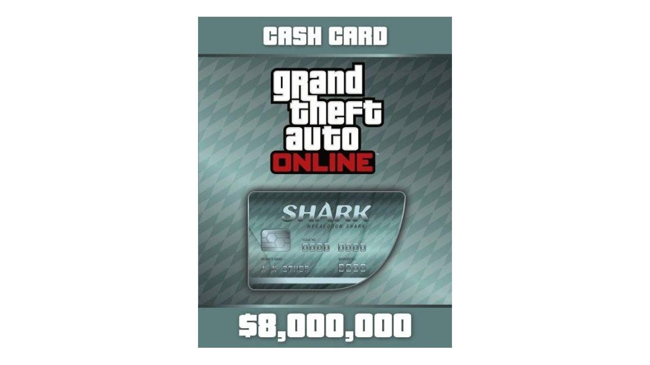 GTA Online Shark Cards 8 Millions