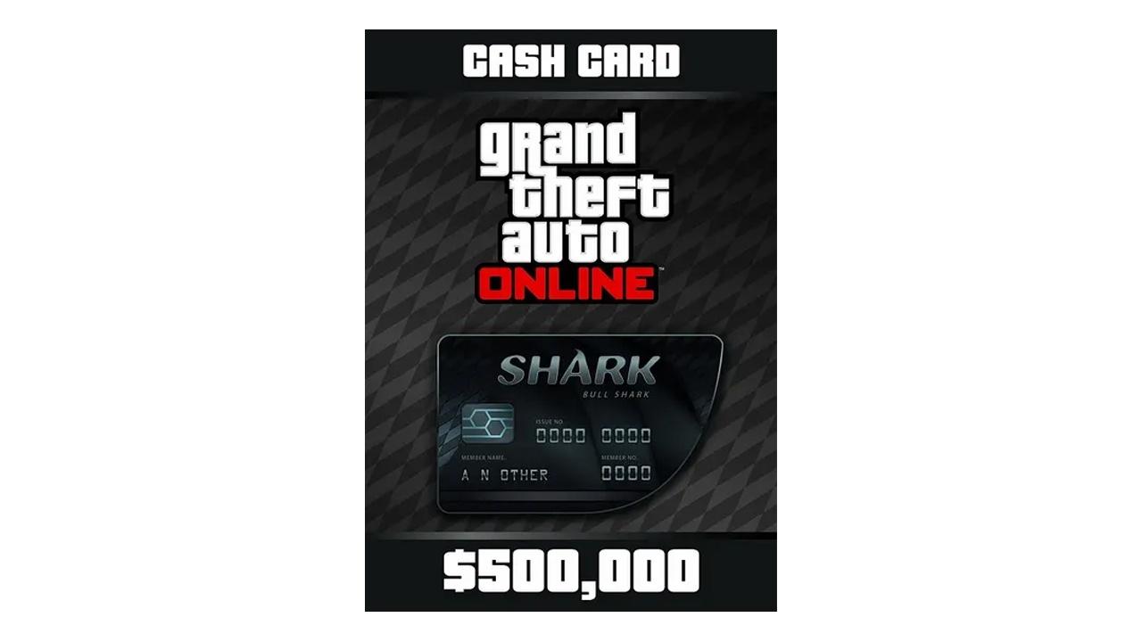 GTA Online Shark Cards 500K