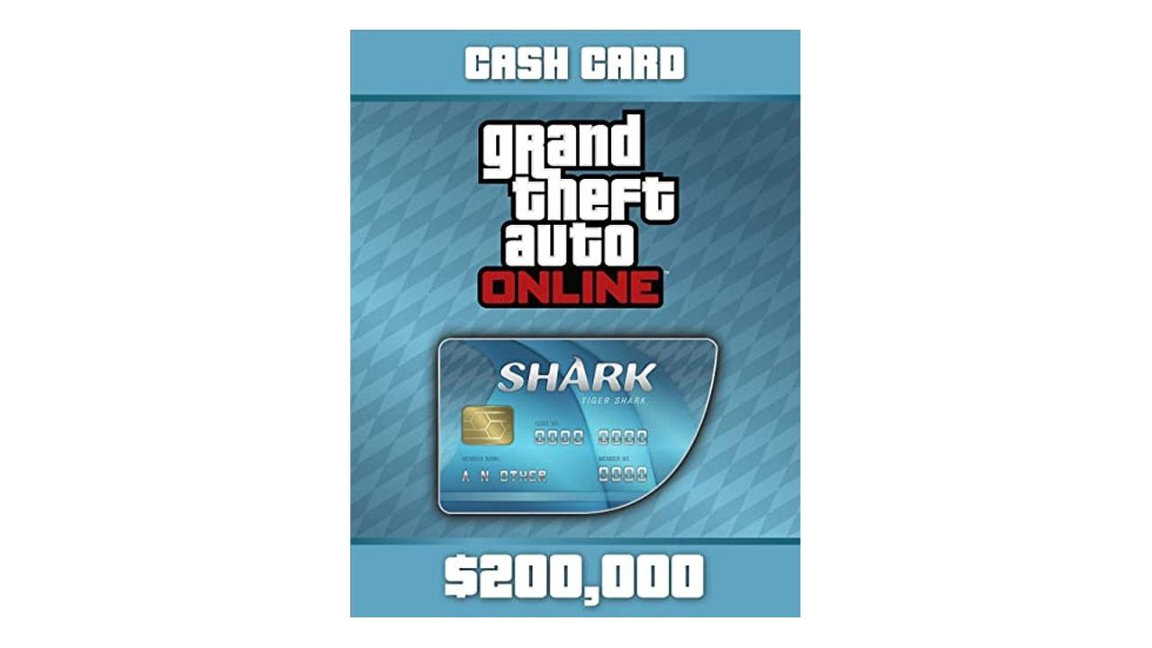 GTA Online Shark Cards 200K