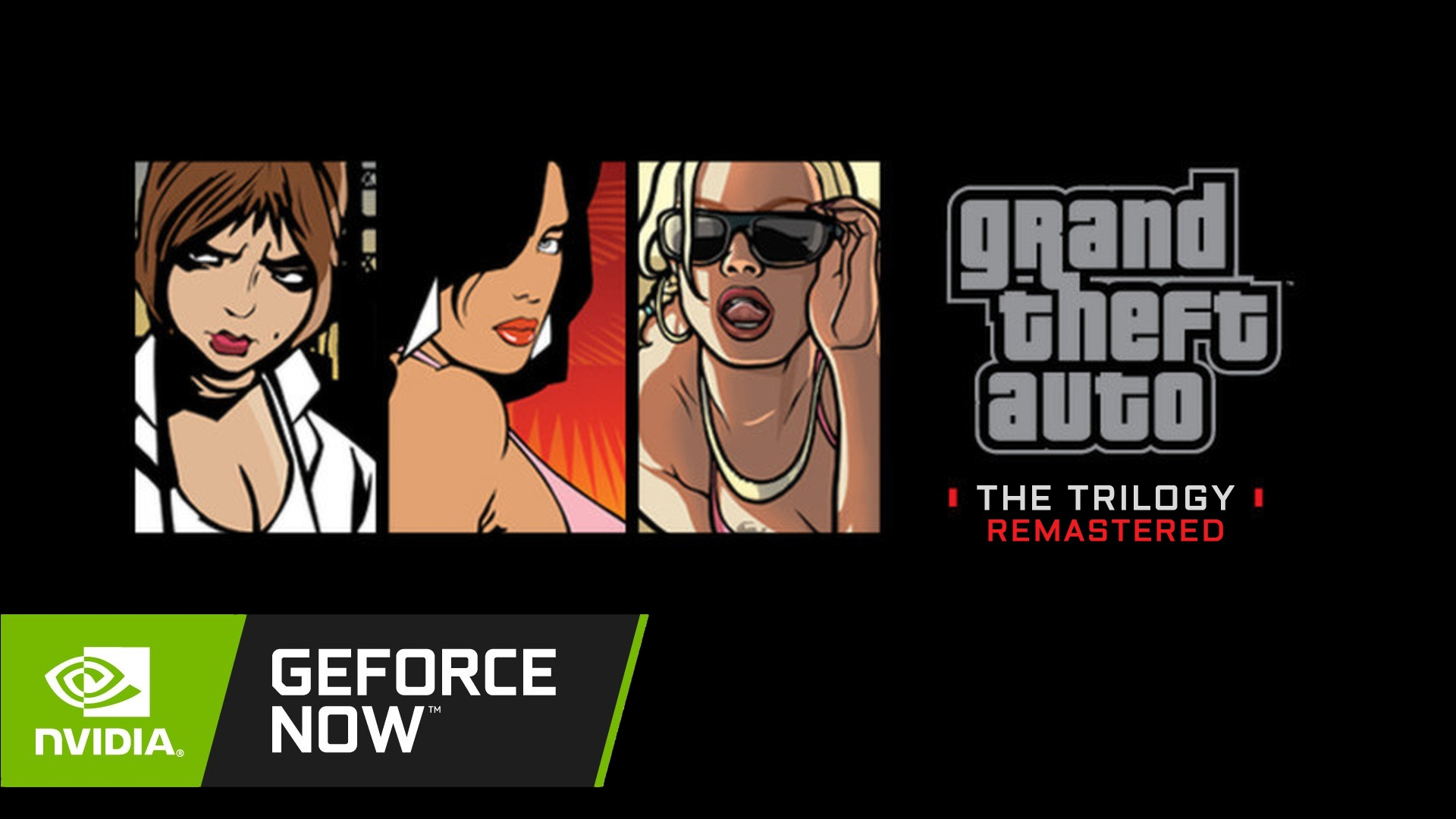 GTA The Trilogy Remastered GeForce NOW