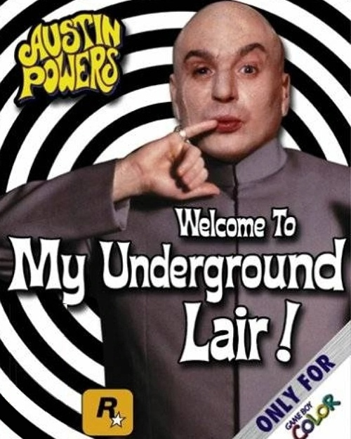 Jaquette Austin Powers Welcome To My Underground Lair !