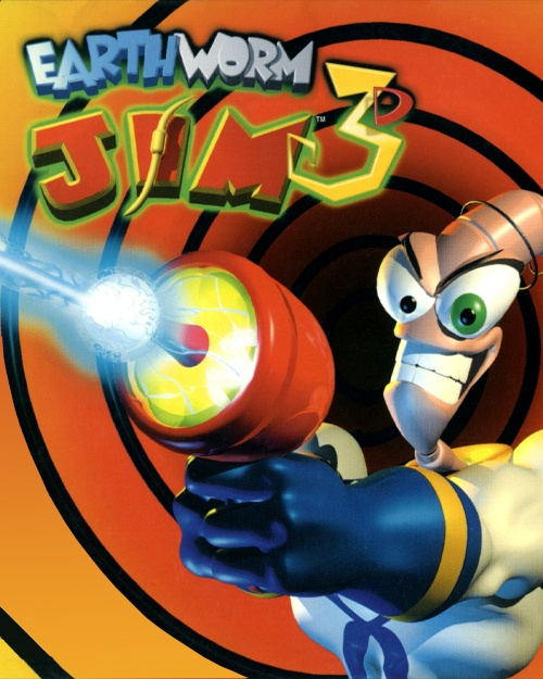 Jaquette Earthworm Jim 3D