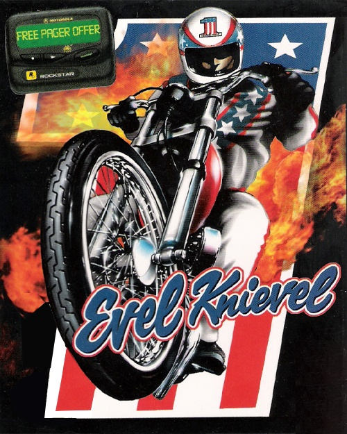Jaquette Evel Knievel