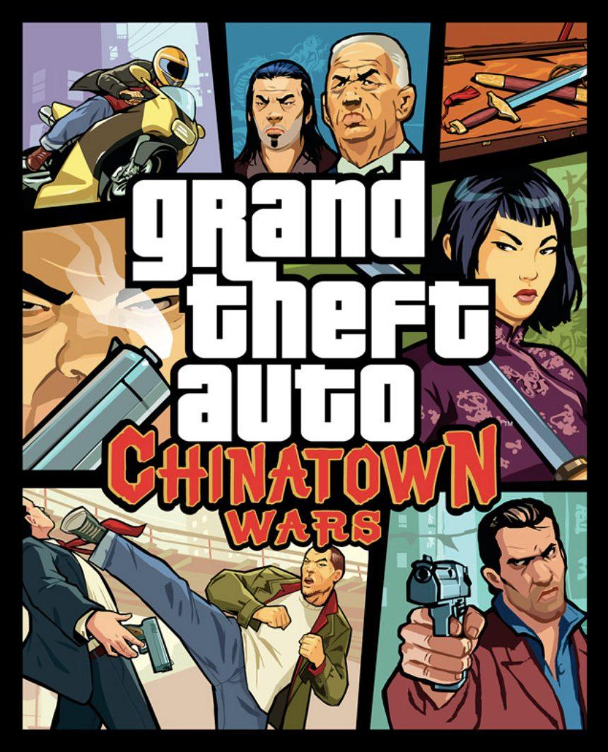 Jaquette GTA Chinatown Wars