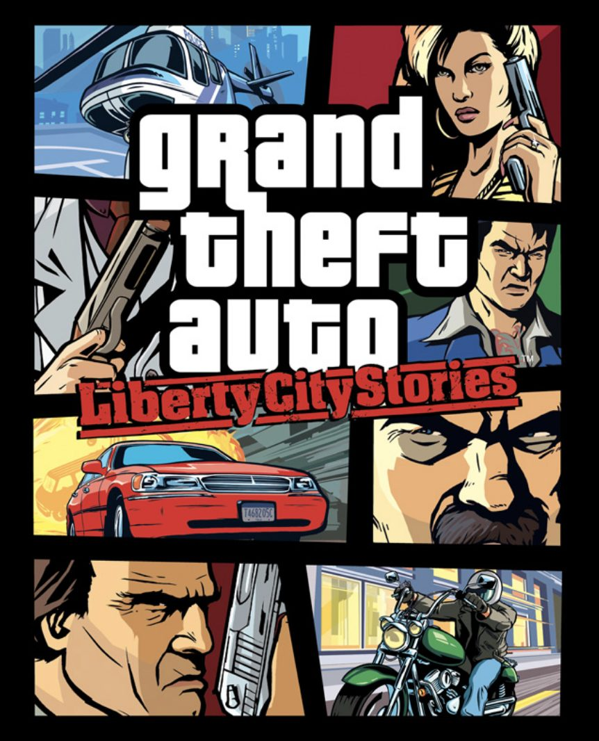 Jaquette GTA Liberty City Stories