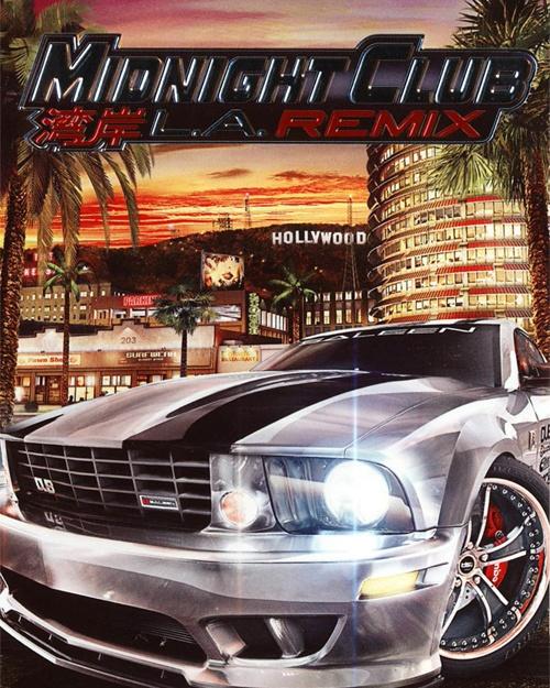 Jaquette Midnight Club LA Remix