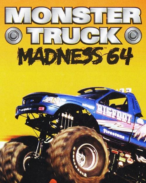 Jaquette Monster Truck Madness 64