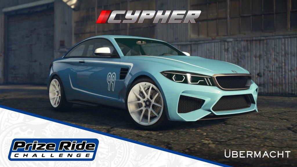 GTAOnline propose un nouveau véhicule, la Cypher