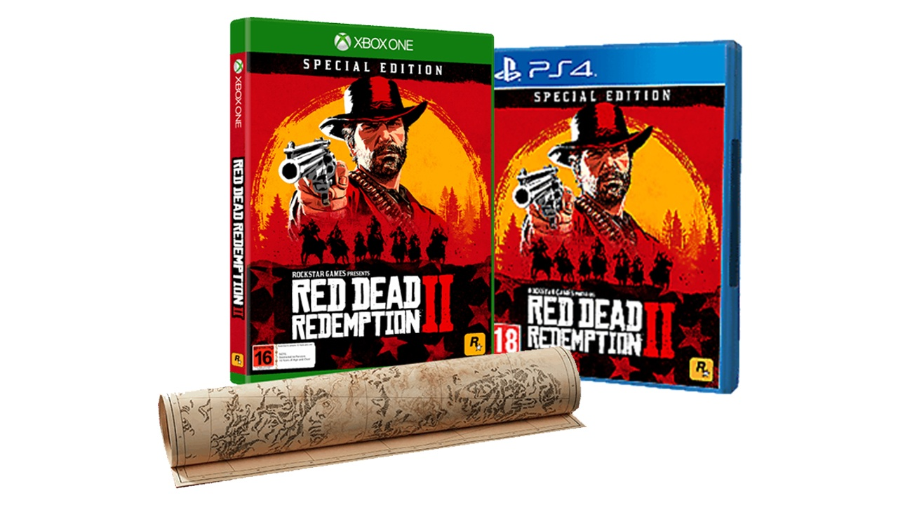 Red Dead Redemption II Spécial PS4/One