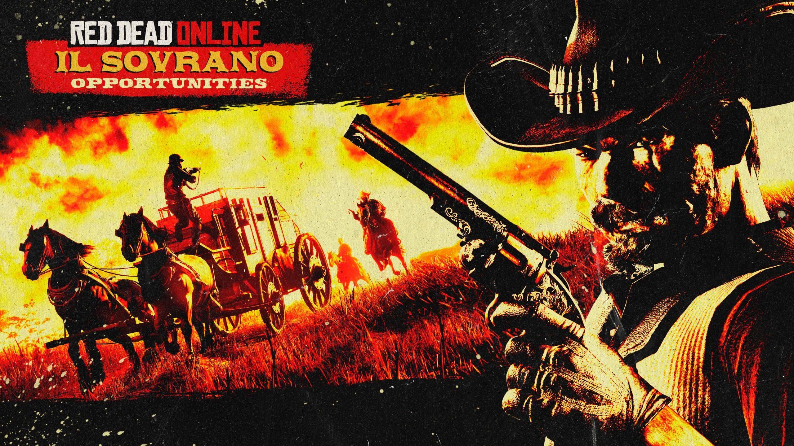Il Sovrano Red Dead Online bonus