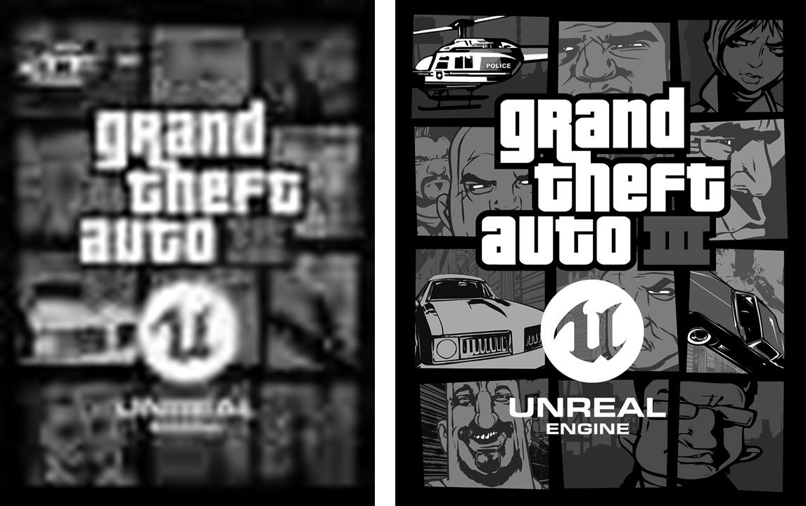 grand theft auto III Unreal