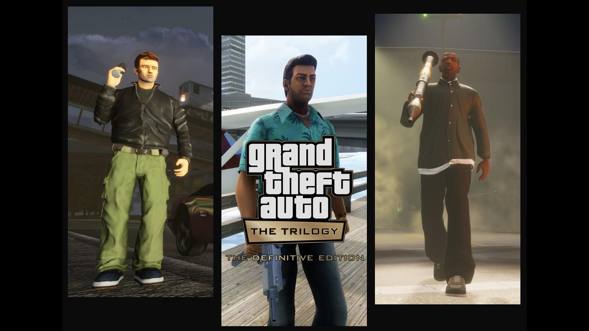 GTA The Trilogy The Definitive Edition : Premières Images