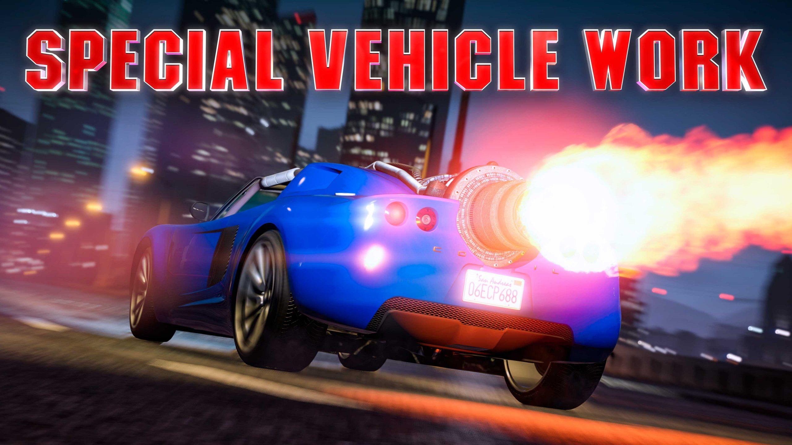 missions véhicules spéciaux GTA Online