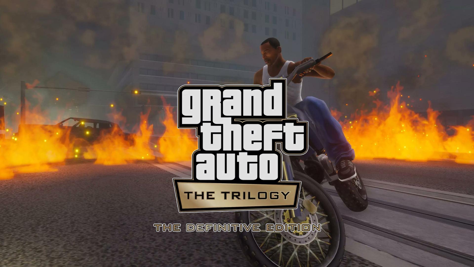 GTA The Definitive Edition Pluie d'images