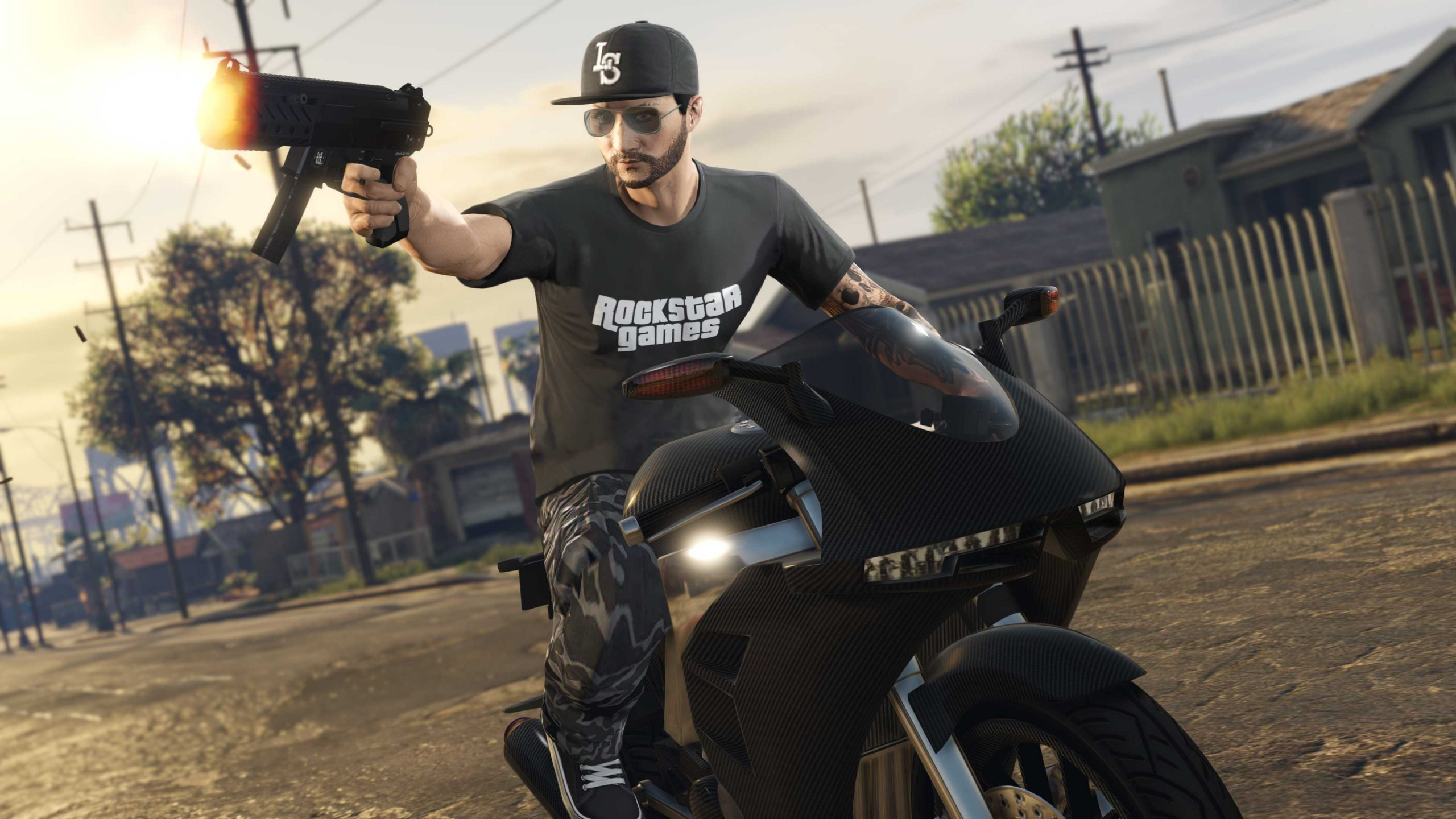 t-shirt police Rockstar Games